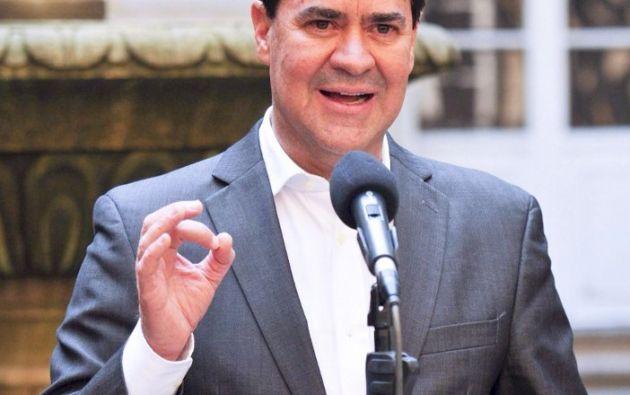 Frank Pearl es el jefe de la delegación del Gobierno colombiano en los diálogos de paz con ELN,