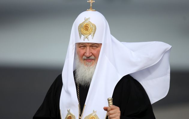 Kirill es el lider de la Iglesia ortodoxa rusa. Foto: Reuters