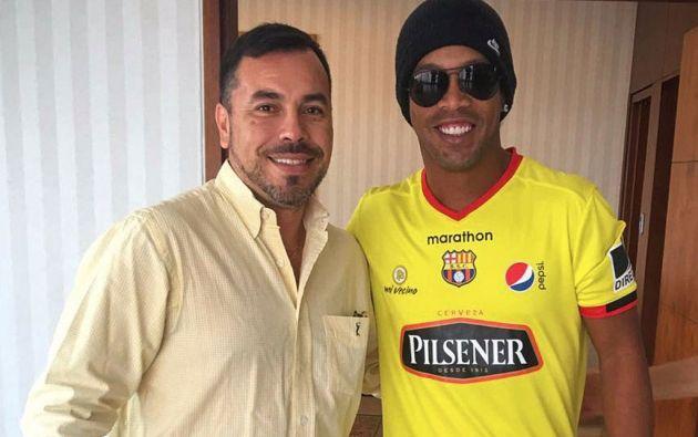 Foto: Twitter / Ronaldinho