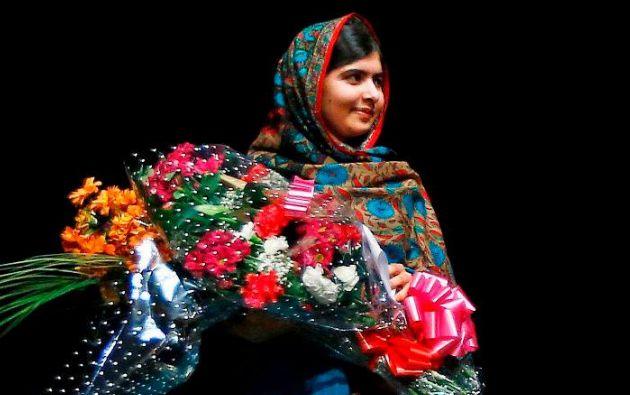 DE LA PAZ. Malala Yousafzai. Foto: REUTERS