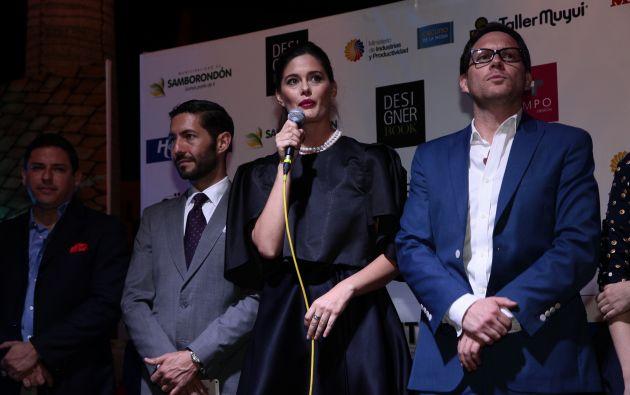 María Susana Rivadeneira y Carlos Stowhas (d), directores del Designer Book.