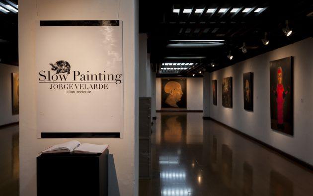 La exposición está abierta al público en la Casa de la Cultura, núcleo Guayas.