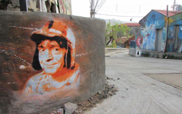 Otro mural en Chile. Fuente: chavodelocho.com