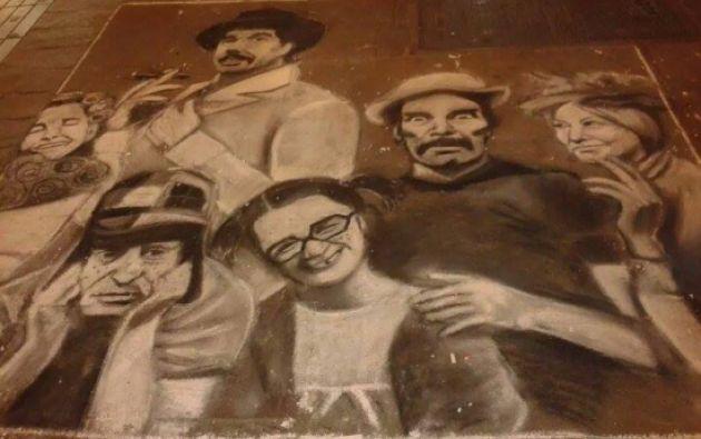 Mural en Chile. Fuente: chavodelocho.com