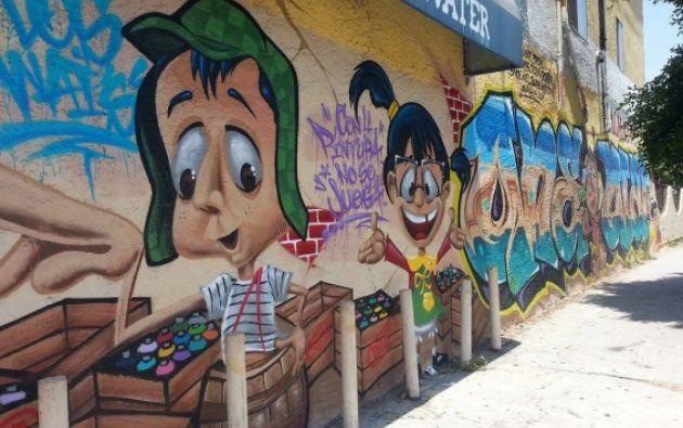 En Los Ángeles. Fuente: chavodelocho.com