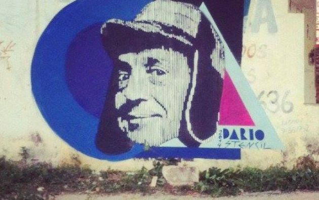 Mural en Sao Paulo. Fuente: chavodelocho.com