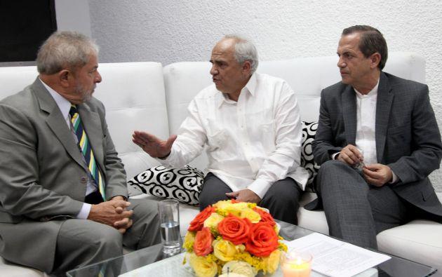 El expresidente de Brasil Luiz Inácio Lula da Silva (i). Flickr / Cancillería Ecuador