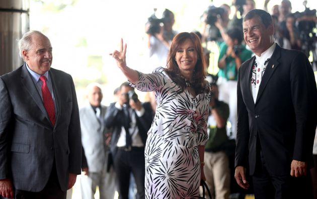 La presidenta de Argentina, Cristina Kirchner. Flickr / Cancillería Ecuador