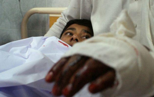Un paquistaní de 16 años logró sobrevivirse al fingir su muerte. Foto: AFP