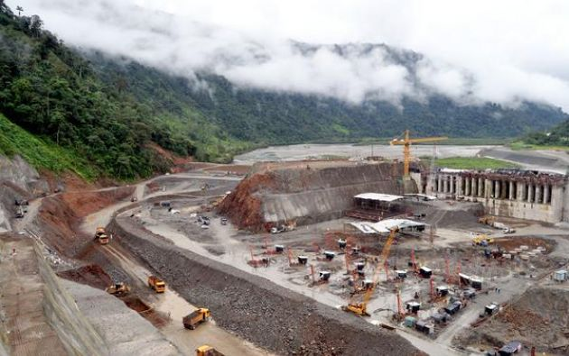 13 muertos y 12 heridos en un accidente en la hidroeléctrica Coca Codo Sinclair. Foto: Twitter / Coca Codo Sinclair