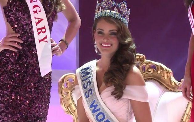 La sudafricana Rolene Strauss es la Miss Mundo 2014. Foto: AFP