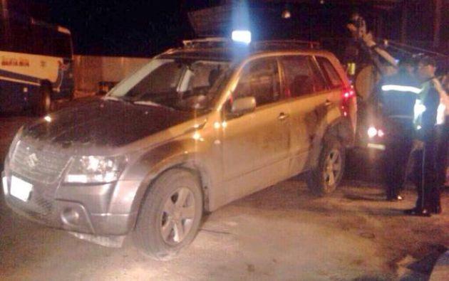 El accidente ocurrió en la provincia de Santa Elena. Foto: Twitter / Fiscalía Ecuador
