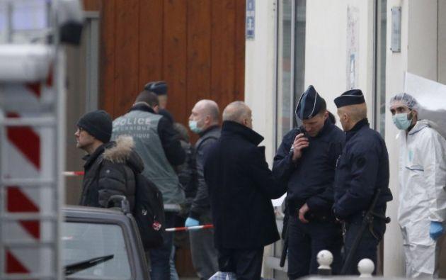Los agresores ingresaron con armas automáticas. Foto: AFP