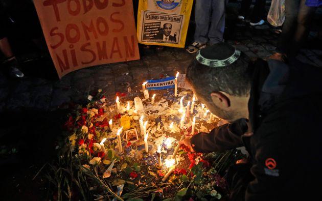 La comunidad judía en Argentina lamentó la muerte del fiscal. Foto: REUTERS