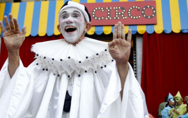 """La exposición """"El Circo"""" se inauguró en el Museo de Antioquia, en la Medellín natal de Botero. Foto: REUTERS"""