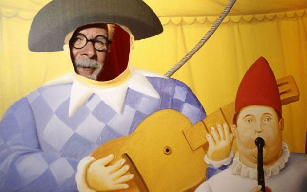 """""""Yo hice mi circo como lo entiendo"""", explicó Botero sobre su visión. Foto: REUTERS"""