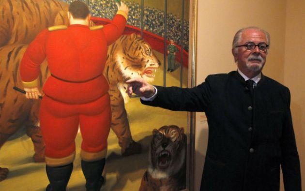 """Para Botero, el espectáculo circense """"presenta mucha poesía, mucho color, mucho movimiento"""". Foto: REUTERS"""