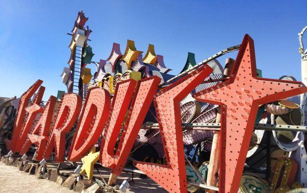 El Museo del Neón abrió sus puertas en el 2012. Foto: Facebook The Neon Museum.