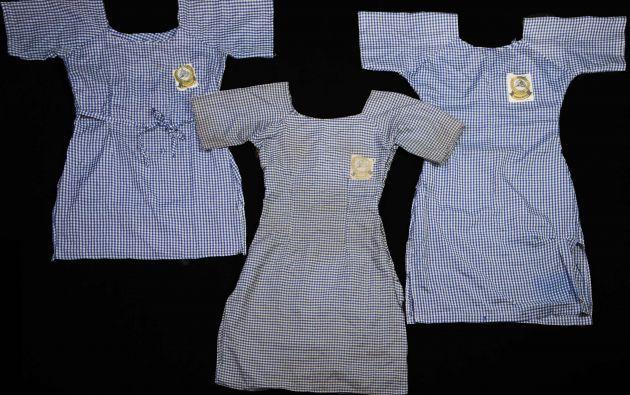 Otro segundo premio en la categoría de noticias generales fue para Glenna Gordon por su fotografía que muestra los uniformes de tres niñas desaparecidas en Nigeria. Foto: World Press Photo vía REUTERS