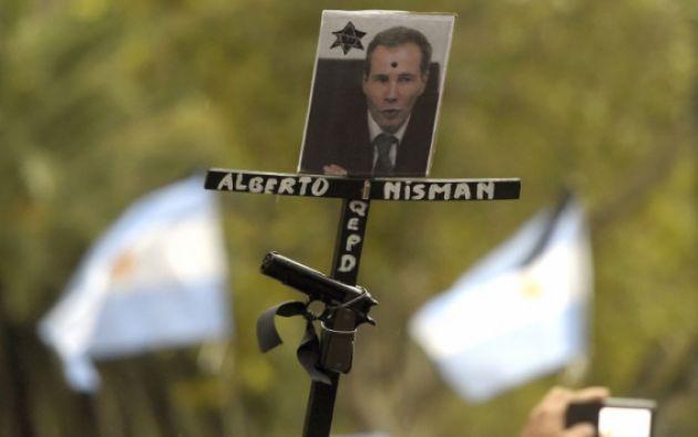 La muerte del fiscal Nisman ocurrió hace un mes. Foto: AFP