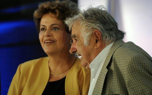 Dilma Rousseff de Brasil. Foto: AFP