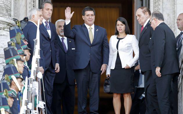 Presidente de Paraguay, Horacio Cartes. Foto: REUTERS