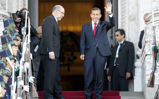 Presidente de Perú, Ollanta Humala. Foto: AFP
