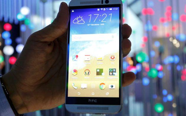 HTC dio a conocer la nueva versión de su teléfono insignia, el HTC One M9.