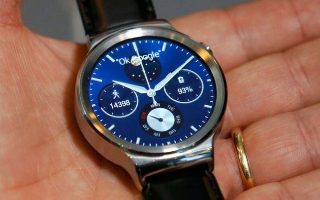 "Huawei ingresa en la ""guerra"" del wear tech con su reloj inteligente."