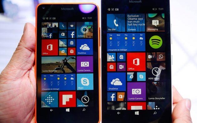 Microsoft presentó los nuevos Lumia 640 y el 640 XL.