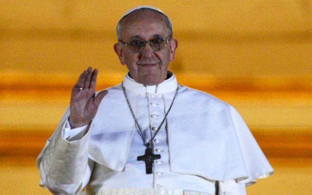Habemus papam. El cardenal Jorge Mario Bergolio tomó el nombre de Francisco para suceder a Benedicto XVI.