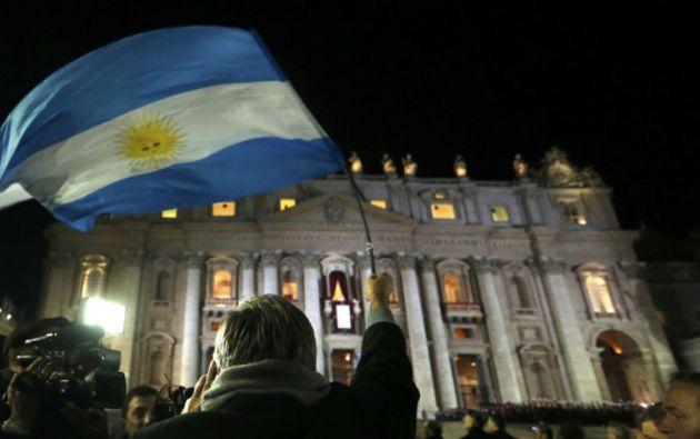El mundo celebraba la elección, por primera vez, de un pontífice argentino.