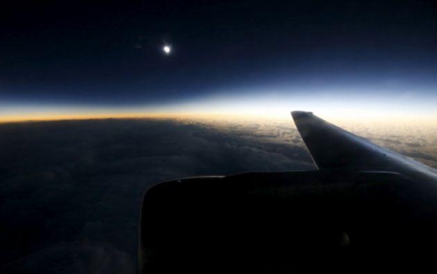 Desde un avión. Foto: REUTERS