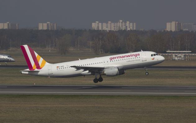 En el Airbus iban 150 personas. Foto: REUTERS