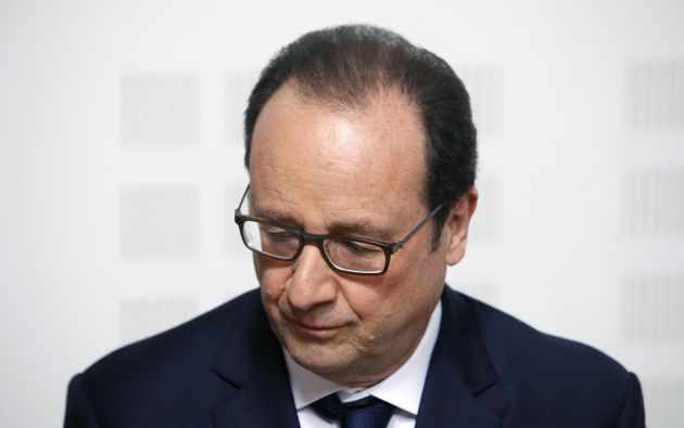 Presidente Hollande viajará a la zona del accidente. Foto: REUTERS