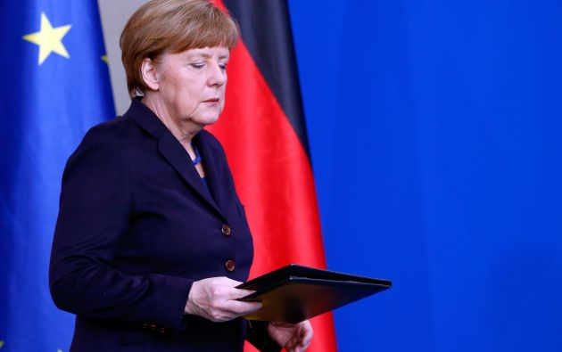Merkel, consternada por el accidente, y en contacto con Rajoy y Hollande. Foto: REUTERS