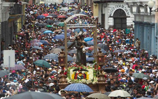 """Procesión """"Jesús del Gran Poder"""". Foto: REUTERS"""
