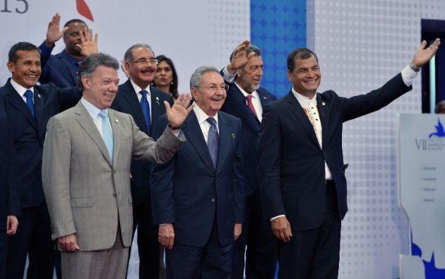 Presidente colombiano Juan Manuel Santos. Foto: AFP