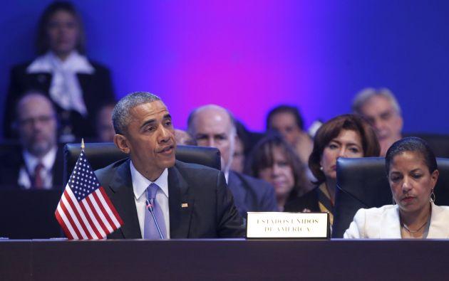 Intervención de Barack Obama. Foto: REUTERS