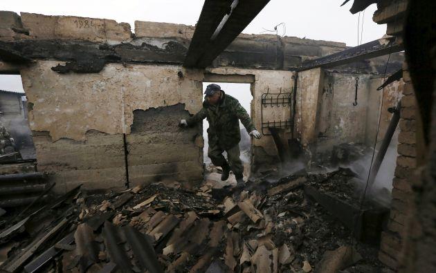 Medio millar de personas tuvieron que ser atendidas de quemaduras leves o asfixia, de las que 77 tuvieron que ser hospitalizadas. Fotos: REUTERS.