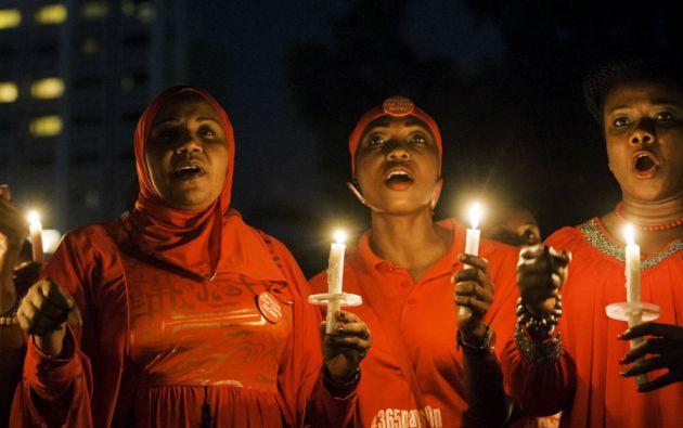 Este martes se cumplió un año del secuestro de 276 estudiantes de una escuela de Chibok (Nigeria).  Un hecho que conmocionó al mundo. Foto: REUTERS
