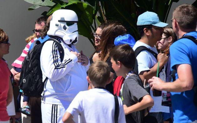 La convención ofreció un pequeño adelanto de la película que dará continuidad a la famosa saga iniciada por George Lucas en 1977.