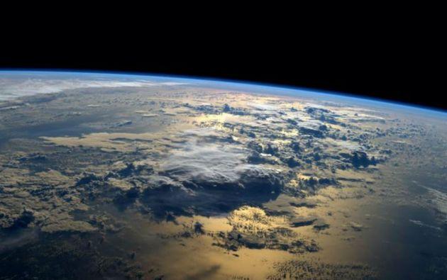 Un astronauta de la NASA tuiteó esta foto tomada desde la Estación Espacial Internacional (septiembre de 2014).