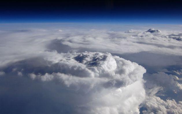 Una tormenta generada en el sur de las Montañas Apalaches (mayo de 2014).