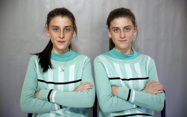 Las gemelas Almedina y Ajla Djulic.