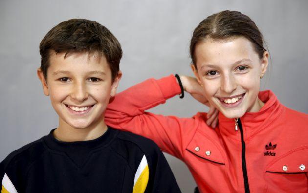 Sara y Davud Catic.