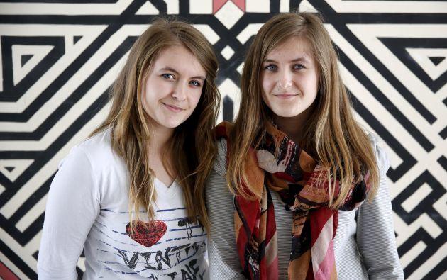 Dzenisa y Merisa Kaukovic.