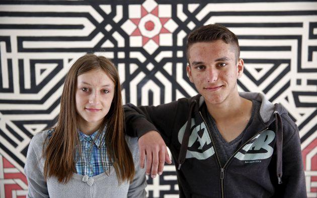 Adisa y Adis Muratovic.
