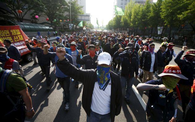 Corea del Sur. Foto: REUTERS