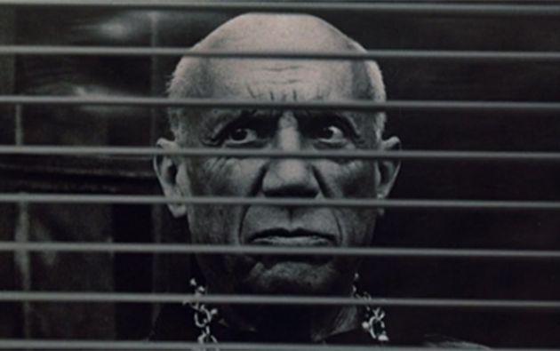 """El pintor Pablo Picasso aparece en la película """"F de Falso""""."""